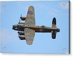 Bbmf Lancaster Bomber Acrylic Print