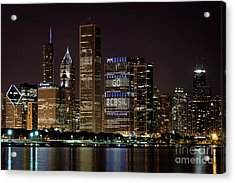 Bcbsil Acrylic Print by Andrea Silies
