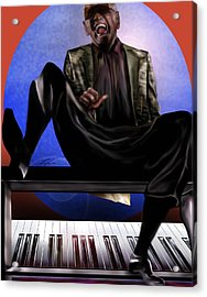 Be Good To Ya - Ray Charles Acrylic Print