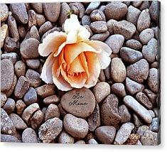 Be Mine  Acrylic Print by Diane E Berry