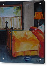 Be My Guest Acrylic Print by Irit Bourla