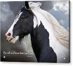 Be Still And Know That I Am Acrylic Print
