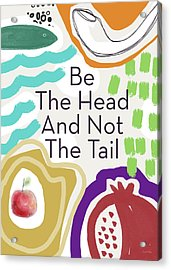Be The Head- Art By Linda Woods Acrylic Print
