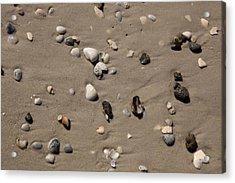 Beach 1121 Acrylic Print by Michael Fryd