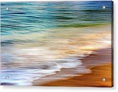 Beach Abstract Acrylic Print