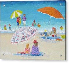 Beach Art - Beach Vacation Acrylic Print by Jan Matson