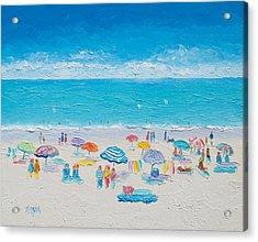 Beach Art - Fun In The Sun Acrylic Print