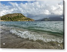 Beach At St. Kitts Acrylic Print
