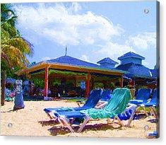 Beach Bar Acrylic Print