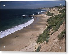 Beach Beachcombers And Wildflowers Acrylic Print