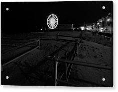 Beach Boardwalk Amusement Acrylic Print