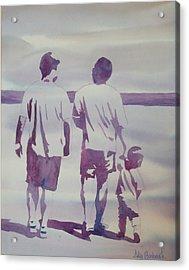 Beach Boys Acrylic Print by Ally Benbrook