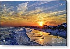 Beach Bum Acrylic Print