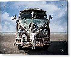 Beach Bum Acrylic Print by Douglas Pittman