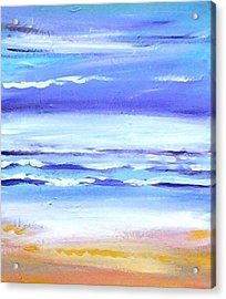 Beach Dawn Acrylic Print