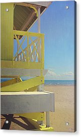 Beach Day Acrylic Print by JAMART Photography