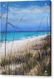 Beach Dreaming Acrylic Print by Susan Jenkins
