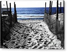 Beach Entry Fusion Acrylic Print
