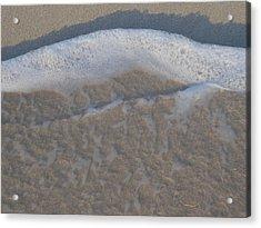 Beach Foam Acrylic Print