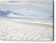Beach For Two Acrylic Print