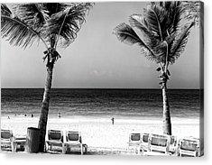 Beach Framing Acrylic Print