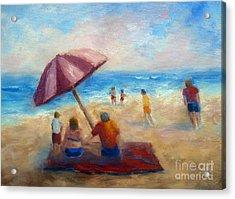 Beach Fun Acrylic Print