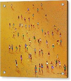 Beach Games Acrylic Print by Neil McBride