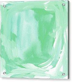 Beach Glass Blues Abstract- Art By Linda Woods Acrylic Print