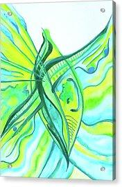 Beach Glass Dream Acrylic Print