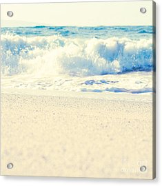 Acrylic Print featuring the photograph Beach Gold by Sharon Mau