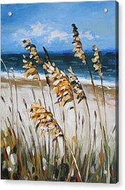 Beach Grass Acrylic Print