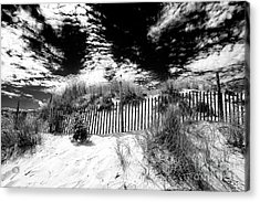 Beach Haven Acrylic Print by John Rizzuto