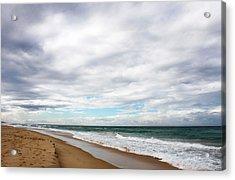 Beach Horizon - Surfer's Paradise Acrylic Print