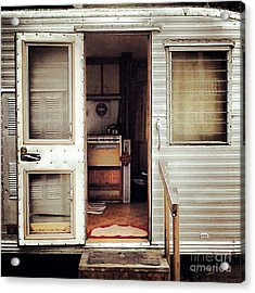 Acrylic Print featuring the photograph Camping Trailer by Susan Parish