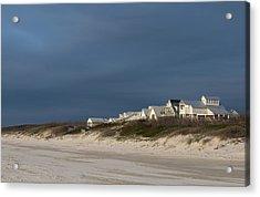 Beach Houses Acrylic Print