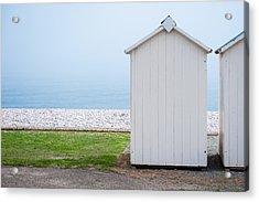 Beach Hut By The Sea Acrylic Print