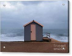 Beach Hut Acrylic Print