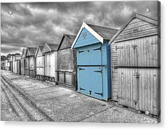 Beach Hut In Isolation Acrylic Print