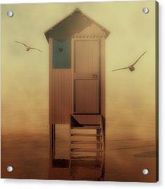 Beach Hut Acrylic Print