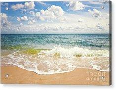 Beach Impression Hoernum Sylt Acrylic Print