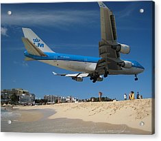 Beach Landing Acrylic Print by Michael Albright