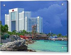 Beach Life In Cancun Acrylic Print