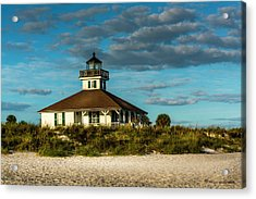 Beach Lighthouse Acrylic Print