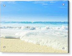 Acrylic Print featuring the photograph Beach Love Summer Sanctuary by Sharon Mau