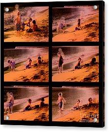 Beach Memories Acrylic Print by Madeline Ellis