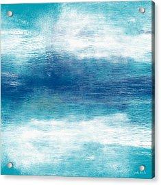 Beach Mood 2- Abstract Art By Linda Woods Acrylic Print