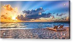 Beach Morning Acrylic Print