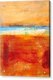 Beach Acrylic Print by Nancy Merkle