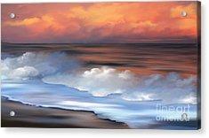 Beach Oasis Acrylic Print