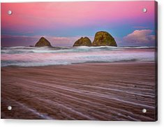 Acrylic Print featuring the photograph Beach Of Dreams by Darren White